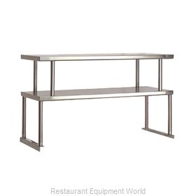 Advance Tabco TOS-4 Serving Counter, Overshelf