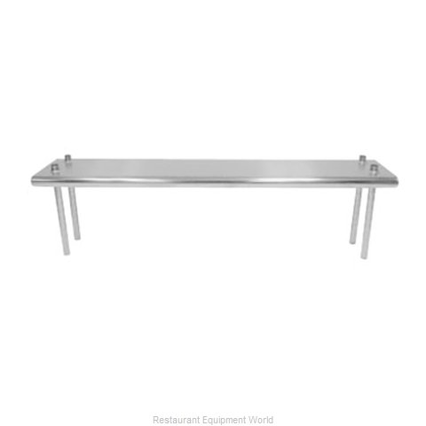 Advance Tabco TS-10-48 Overshelf Table Mounted (Magnified)