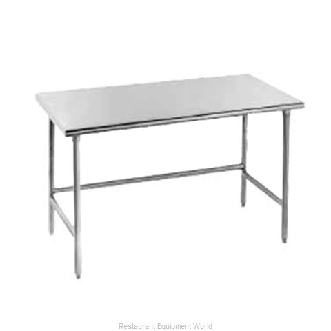 Advance Tabco TSAG-240 Flat Top, Open Base Worktable