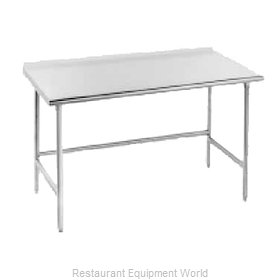 Advance Tabco TSFG-309 Work Table 108 Long Stainless steel Top