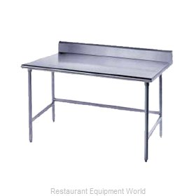 Advance Tabco TSKG-306 Work Table 72 Long Stainless steel Top