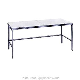 Advance Tabco TSPT-244 Work Table, Poly Top