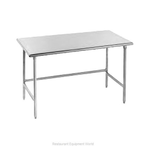 Advance Tabco TSS-304 Open Base Worktable (Magnified)