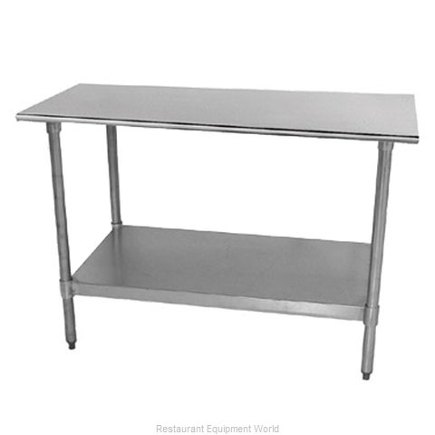 Advance Tabco TT-306-X Work Table 72 Long Stainless steel Top