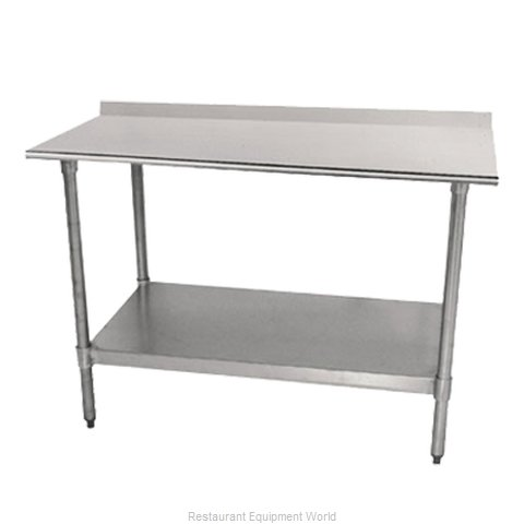 Advance Tabco TTF-304-X Work Table 48 Long Stainless steel Top