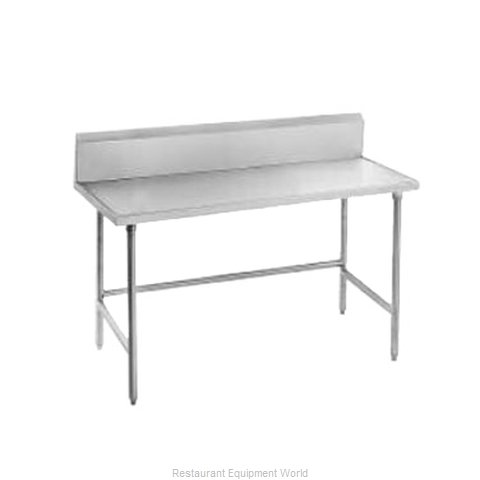 Advance Tabco TVKG-306 Work Table 72 Long Stainless steel Top