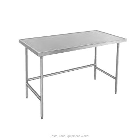 Advance Tabco TVLG-2410 Work Table 120 Long Stainless steel Top