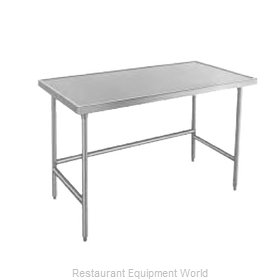 Advance Tabco TVLG-304 Work Table 48 Long Stainless steel Top