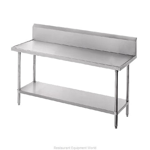 Advance Tabco VKG-367 Work Table 84 Long Stainless steel Top
