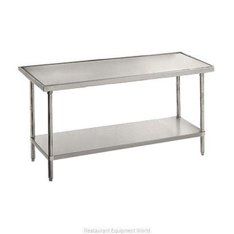Advance Tabco VSS-247 Work Table 84 Long Stainless steel Top