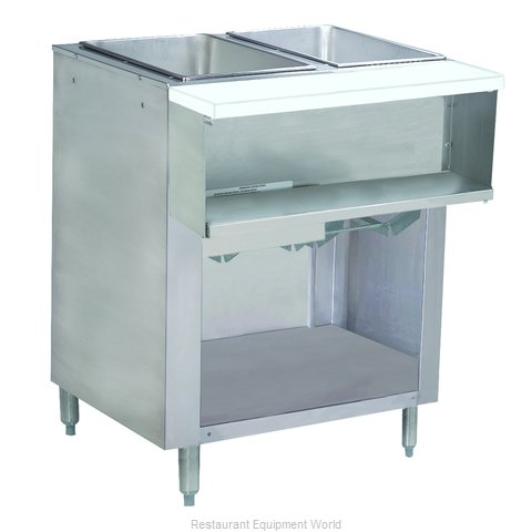 Advance Tabco WB-2G-LP-BS Serving Counter, Hot Food, Gas
