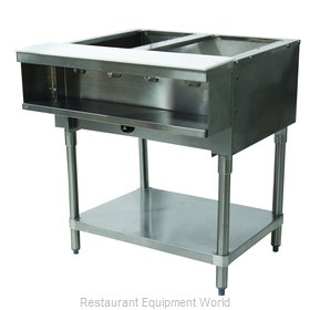 Advance Tabco WB-2G-LP Serving Counter, Hot Food, Gas