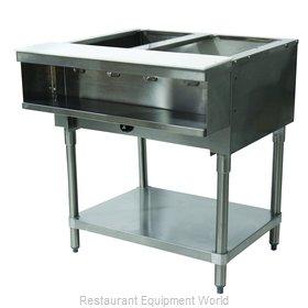 Advance Tabco WB-2G-NAT Serving Counter, Hot Food, Gas