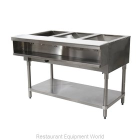 Advance Tabco WB-3G-NAT-X Serving Counter, Hot Food, Gas