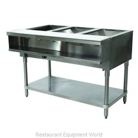 Advance Tabco WB-3G-NAT Serving Counter, Hot Food, Gas