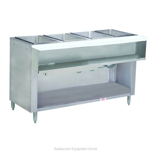 Advance Tabco WB-4G-LP-BS Serving Counter, Hot Food, Gas