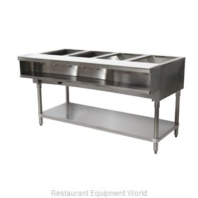 Advance Tabco WB-4G-LP-X Serving Counter, Hot Food, Gas