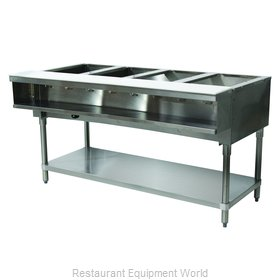 Advance Tabco WB-4G-LP Serving Counter, Hot Food, Gas