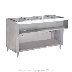 Advance Tabco WB-4G-NAT-BS Serving Counter, Hot Food, Gas