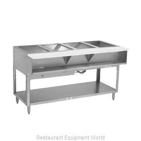 Advance Tabco WB-4G-NAT-X Serving Counter, Hot Food, Gas