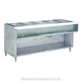 Advance Tabco WB-5G-LP-BS Serving Counter, Hot Food, Gas