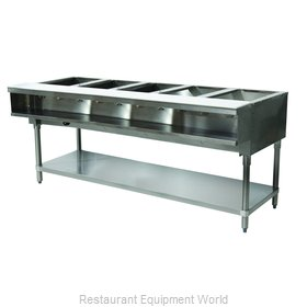 Advance Tabco WB-5G-LP Serving Counter, Hot Food, Gas