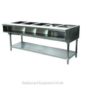 Advance Tabco WB-5G-NAT Serving Counter, Hot Food, Gas