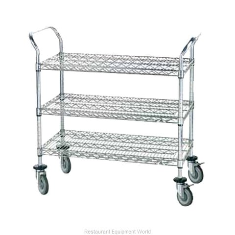 Advance Tabco WUC-2436P Utility Cart (Magnified)