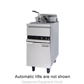 ANETS 14EL14AA Fryer Floor Model Electric Full Pot