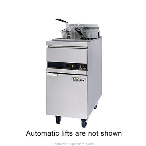 ANETS 14EL14AAF Fryer Floor Model Electric Full Pot
