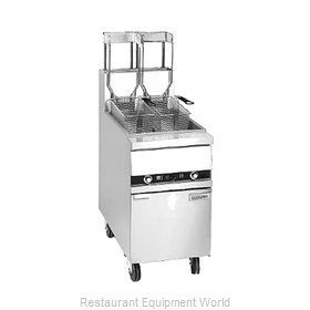 ANETS 18AAF Fryer Floor Model Gas Full Pot