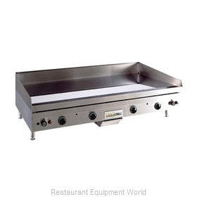 ANETS A24X48GCLD Griddle Counter Unit Gas
