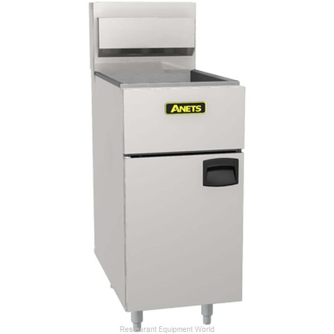 ANETS SLG100 Fryer Floor Model Gas Full Pot 70-100 lb. Cap.