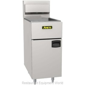 ANETS SLG100 Fryer, Gas, Floor Model, Full Pot