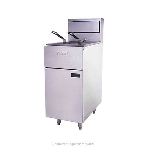 ANETS SLG40 Fryer, Gas, Floor Model, Full Pot