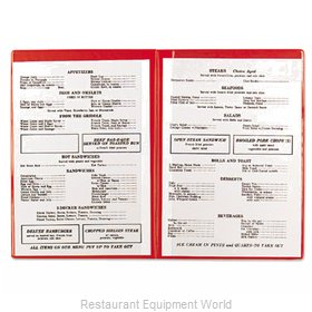 Alegacy Foodservice Products Grp 101R Menu Cover