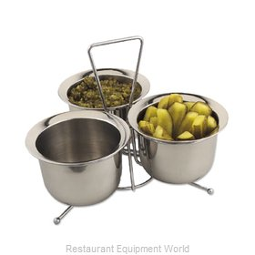 Alegacy Foodservice Products Grp 1140 Condiment Caddy, Rack Set