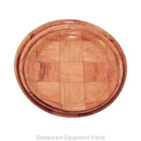 Alegacy Foodservice Products Grp 4910 Plate, Wood
