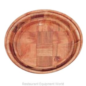 Alegacy Foodservice Products Grp 4911 Plate, Wood