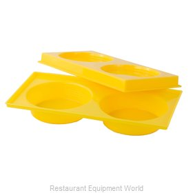 Alegacy Foodservice Products Grp 497FYC Tray, Compartment, Plastic