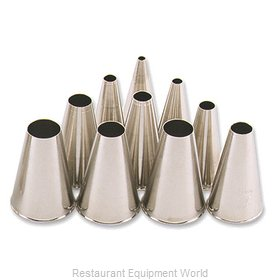 Alegacy Foodservice Products Grp 5026T Cake Decorating Tube Tips