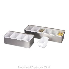 Alegacy Foodservice Products Grp 79300 Bar Condiment Server, Countertop