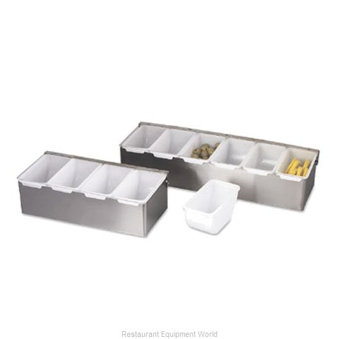 Alegacy Foodservice Products Grp 79303 Bar Condiment Server, Countertop