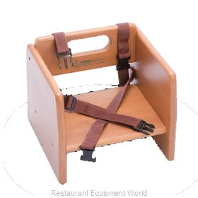 Alegacy Foodservice Products Grp 80956 Booster Seat, Wood