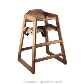 Alegacy Foodservice Products Grp 80976A High Chair, Wood