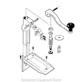 Alegacy Foodservice Products Grp AL020SP Can Opener Parts
