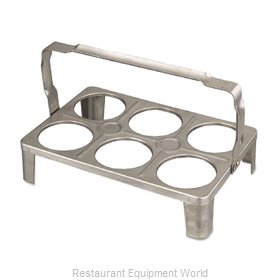 Alegacy Foodservice Products Grp BS6SS Flatware Holder