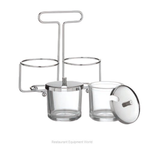 Alegacy Foodservice Products Grp MJ6R Condiment Caddy, Rack Only