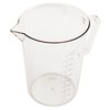 Taza Medidora, Plástico <br><span class=fgrey12>(Alegacy Foodservice Products Grp PCML50 Measuring Cups)</span>