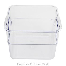 Alegacy Foodservice Products Grp PCSC10S Food Storage Container, Square